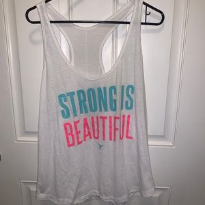 """Old Navy """"Strong is Beautiful"""" XL Active Tank"""